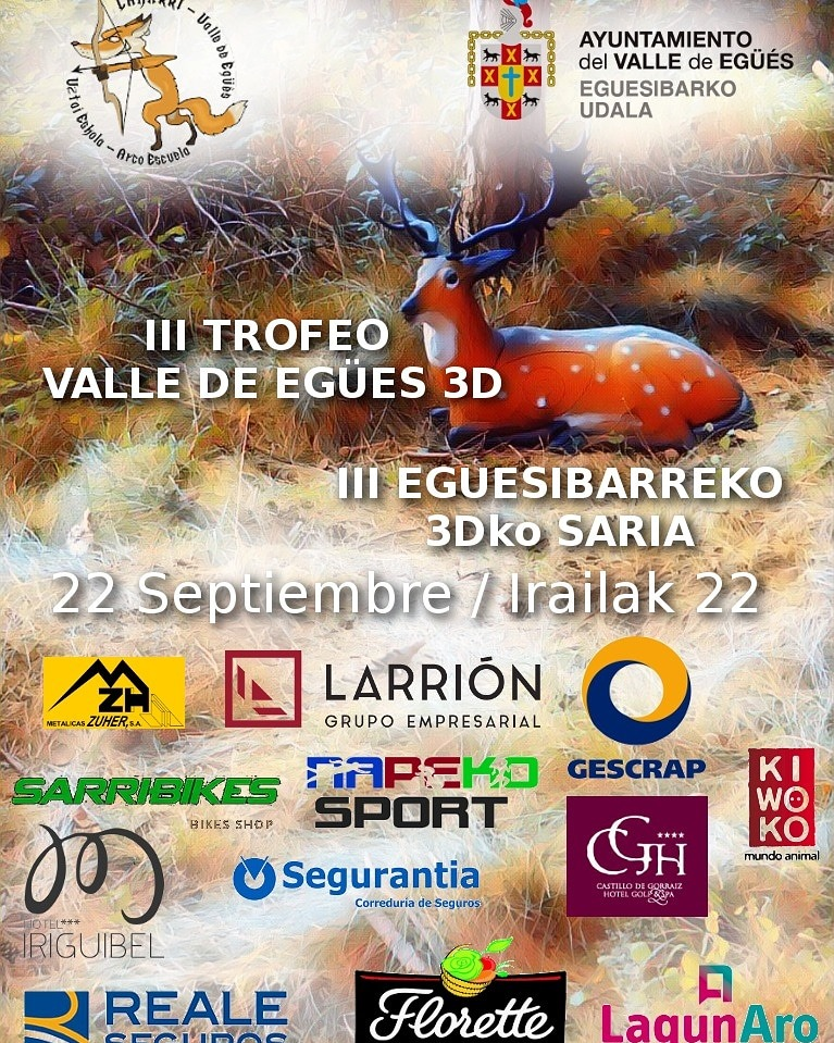 III Trofeo 3D valle Egües